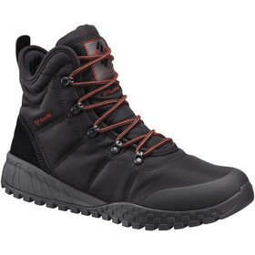 Columbia Fairbanks Omni-Heat Schoenen Heren, black/rusty